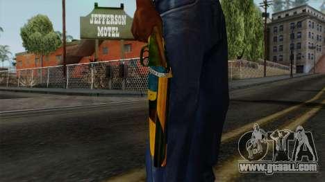 Brasileiro Sawnoff Shotgun v2 for GTA San Andreas third screenshot