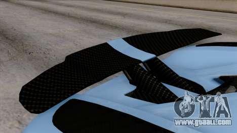 Koenigsegg Agera R 2014 Carbon Wheels for GTA San Andreas right view