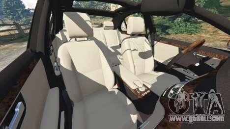 GTA 5 Mercedes-Benz S550 W221 v0.4.1 [Alpha] wheel