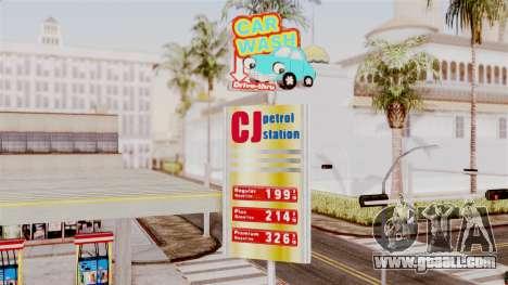LS CJ Gas v2 for GTA San Andreas second screenshot