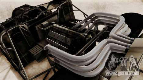 Camo Flip Car for GTA San Andreas back view