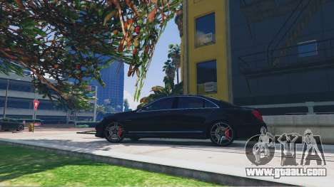 Mercedes-Benz S65 AMG 2012 for GTA 5