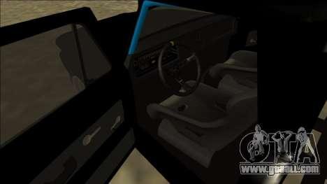 Chevrolet C10 Drift Monster Energy for GTA San Andreas right view