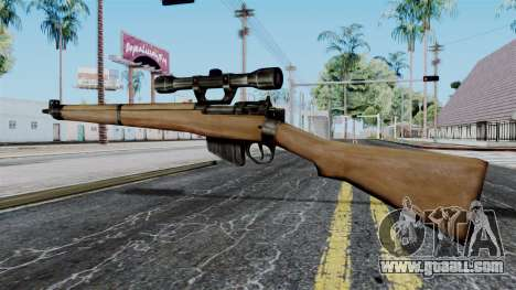 Lee-Enfield No.4 Scope from Battlefield 1942 for GTA San Andreas second screenshot