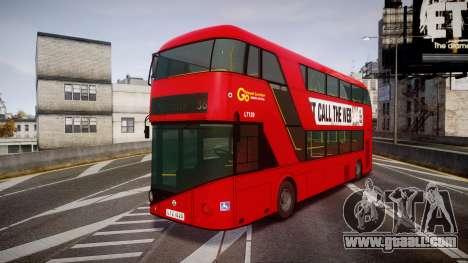 Wrightbus New Routemaster Go Ahead London for GTA 4