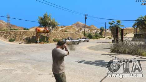 GTA 5 Insane Overpowered Weapons mod 2.0