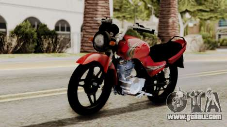 Yamaha YBR Imitacion for GTA San Andreas