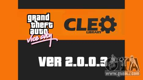 CLEO 2.0.0.3 for GTA Vice City