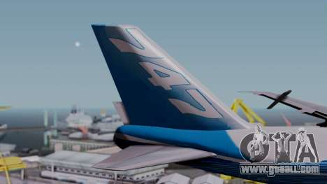 Boeing 747-400 Dreamliner Livery for GTA San Andreas back left view