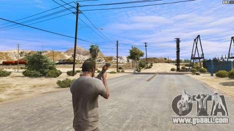 GTA 5 OTS-14 Groza from Battlefield 4 fourth screenshot