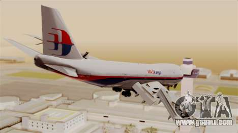 Boeing 747 MasKargo for GTA San Andreas left view