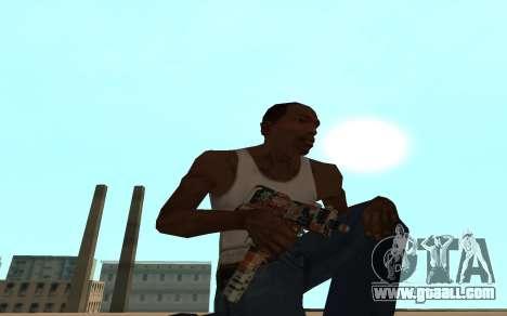 Asiimov Weapon Pack v2 for GTA San Andreas seventh screenshot