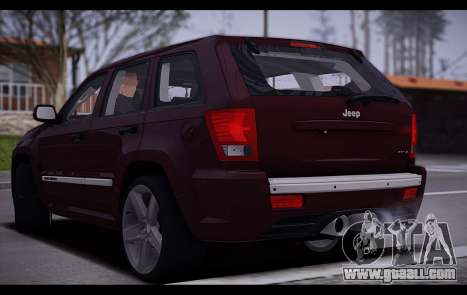 Jeep Grand Cherokee SRT8 2008 for GTA San Andreas right view