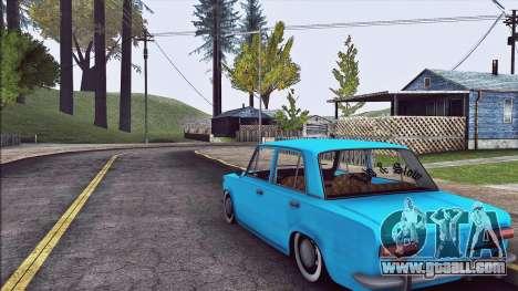 VAZ 2101 Resto for GTA San Andreas right view