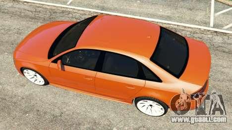 GTA 5 Audi S4 back view