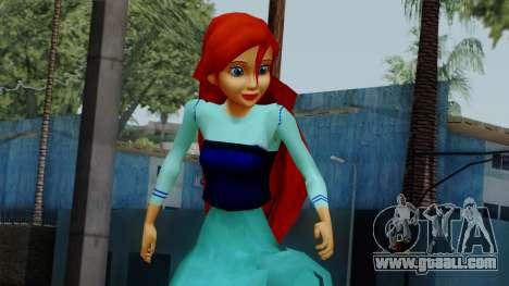 Ariel (Human Version) for GTA San Andreas