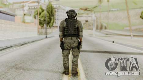 Derek Frost from CoD MW3 for GTA San Andreas third screenshot