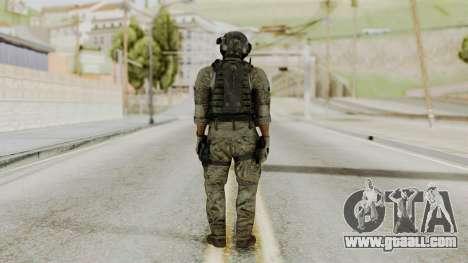 Derek Frost from CoD MW3 for GTA San Andreas third screenshot
