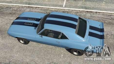 Chevrolet Camaro SS 350 1969 for GTA 5