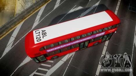 Wrightbus New Routemaster Abellio London for GTA 4 right view