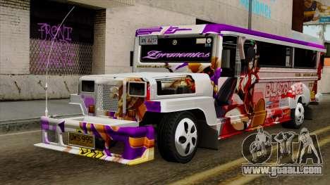 Znranomics - Costum Jeepney (Gabshop) for GTA San Andreas
