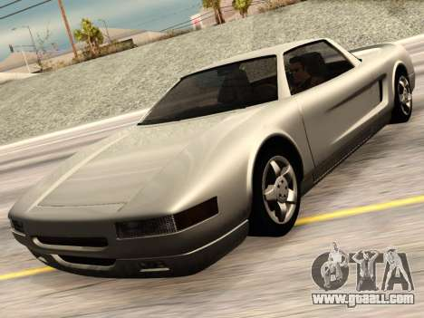 Infernus PFR v1.0 final for GTA San Andreas back view