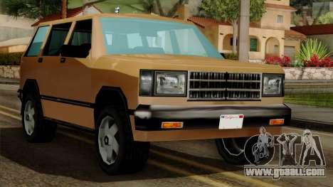Landstalker from Vice City IVF for GTA San Andreas