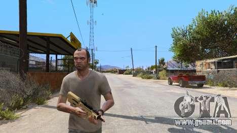 GTA 5 TAR-21 из Battlefield 4 third screenshot