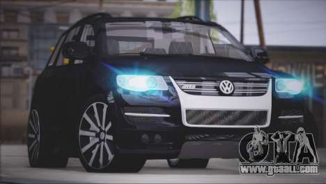 Volkswagen Touareg R50 2008 for GTA San Andreas back view