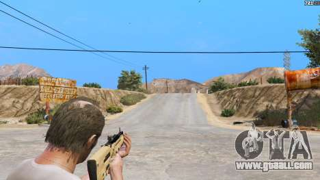 GTA 5 TAR-21 из Battlefield 4 fourth screenshot