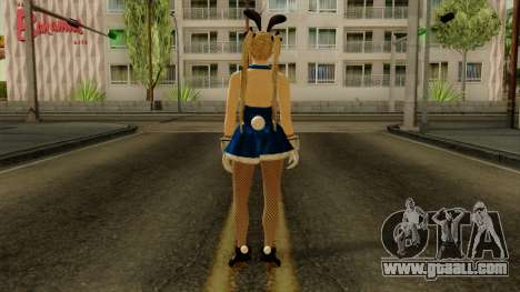 Dead Or Alive 5 Rose Marie Bunny for GTA San Andreas