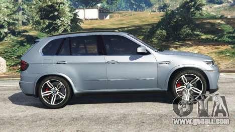 GTA 5 BMW X5 M (E70) 2013 v1.01 left side view