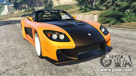 Mazda RX-7 Veilside Fortune v0.1 for GTA 5