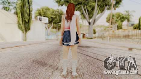 DOA 5 Kasumi Scarfed Frock for GTA San Andreas third screenshot