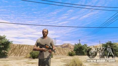 GTA 5 OTS-14 Groza from Battlefield 4 second screenshot