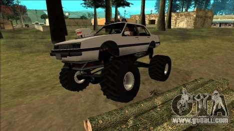 Willard Monster for GTA San Andreas wheels