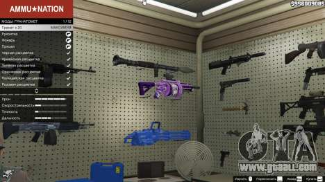 GTA 5 Anime grenade launcher