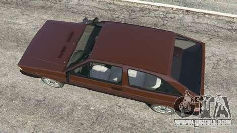 GTA 5 Volkswagen Gol GL 1.8 back view