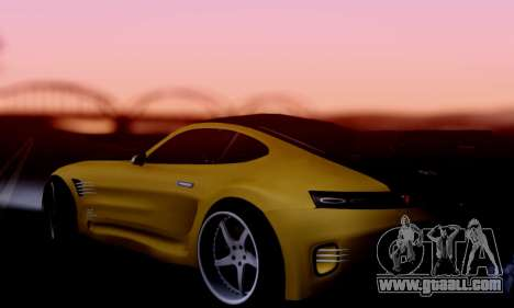 Mercedes-Benz AMG GT for GTA San Andreas right view