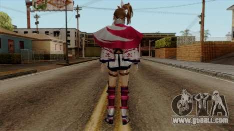 Sengoku Musou 3 - Kunoichi for GTA San Andreas third screenshot
