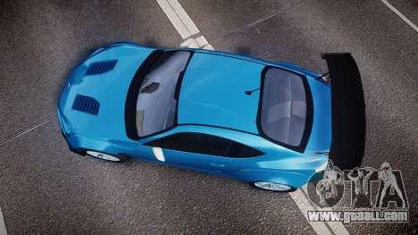 Subaru BRZ Rocket Bunny for GTA 4 right view
