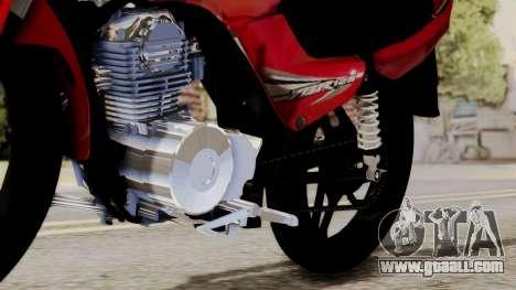 Yamaha YBR Imitacion for GTA San Andreas back view