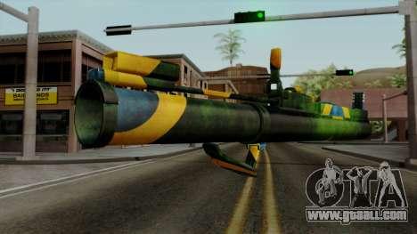 Brasileiro Heatseek v2 for GTA San Andreas second screenshot