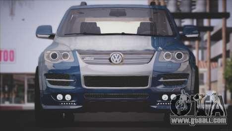 Volkswagen Touareg R50 2008 for GTA San Andreas back left view