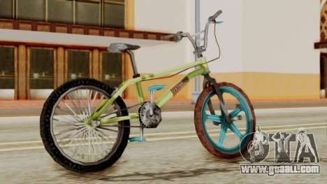 Crap BMX for GTA San Andreas left view