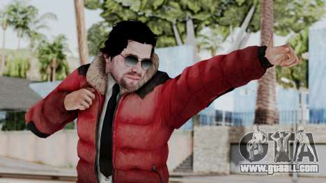 Willis Huntley from Far Cry 4 for GTA San Andreas