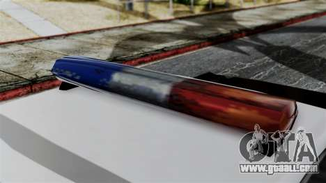 Police Savanna 2.0 for GTA San Andreas back left view