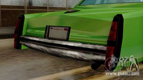 Esperanto from Vice City Stories for GTA San Andreas right view