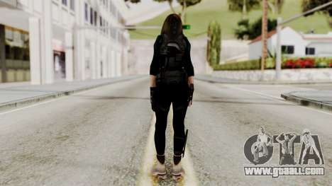 Christy Battle Suit 2 (Resident Evil) for GTA San Andreas third screenshot