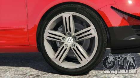 GTA 5 Volkswagen Fox v1.1 rear right side view